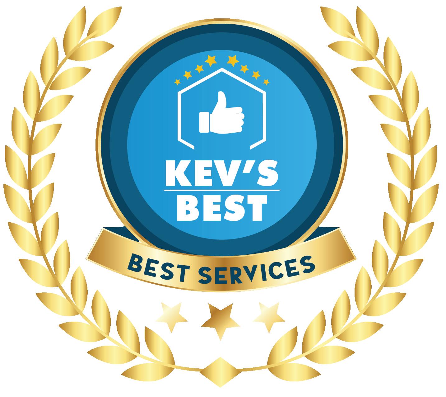 Best Landscaping Company in Birmingham Award on Kev's Best